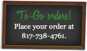 To Go Orders